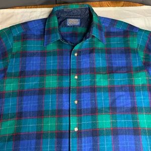 Pendleton mens flannel long sleeve